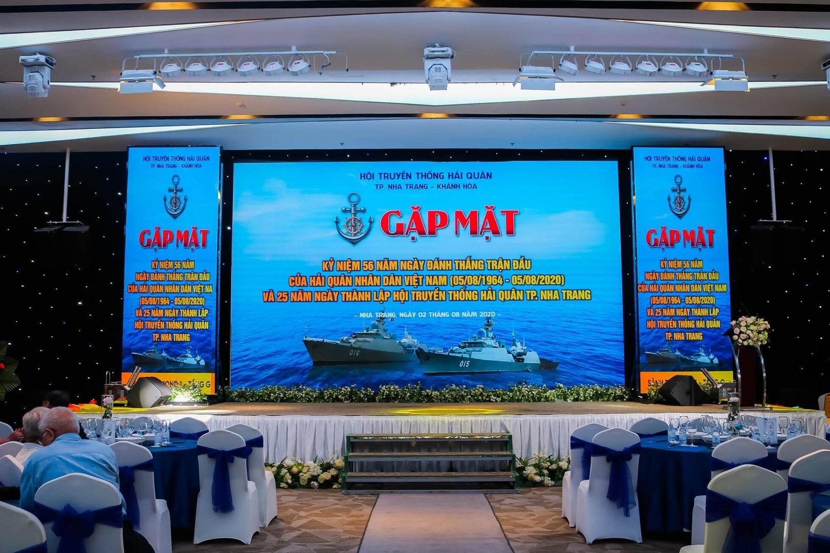 Hội nghị Gặp mặt Hội truyền thống Hải Quân thành phố Nha Trang